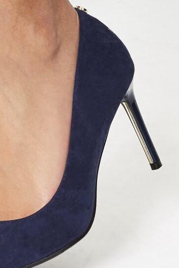 Lipsy Navy Comfort Mid Heel Court