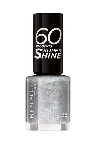 Rimmel London 60 Seconds Glitter Nail Polish