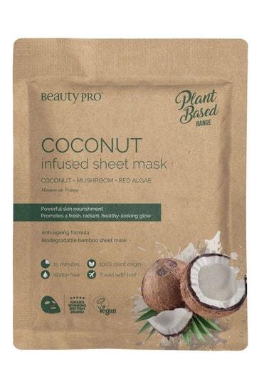BeautyPro Coconut Infused Sheet Mask 22ml