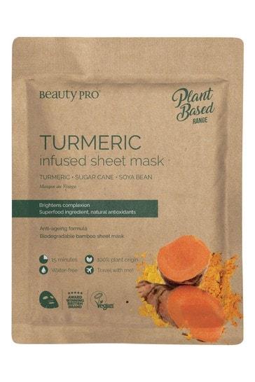 BeautyPro Tumeric Infused Sheet Mask 22ml