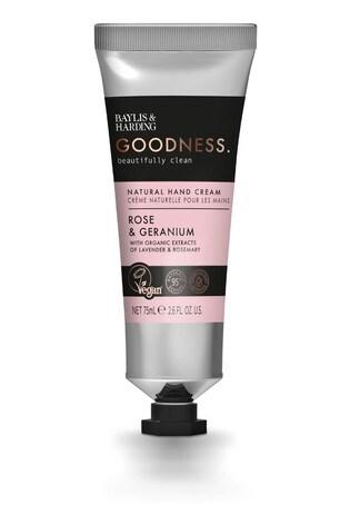 Baylis & Harding Goodness Rose & Geranium 75ml Hand Cream