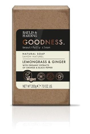 Baylis & Harding Goodness Lemongrass & Ginger 200g Soap