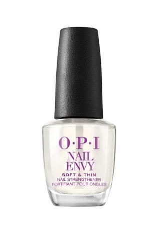 OPI Nail Envy, Nail Strengthener Treatment, Soft & Thin Formula, 15 ml