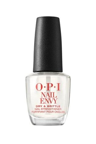 OPI Nail Envy, Nail Strengthener Treatment, Dry & Brittle Formula, 15 ml