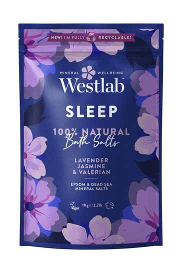 Westlab Sleep Bathing Salts 1kg