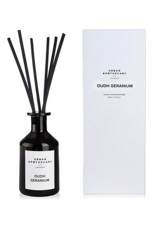 Urban Apothecary 200ml Oudh Geranium Luxury Diffuser