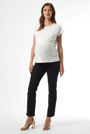 Dorothy Perkins Black Maternity Over Bump Slim Jean
