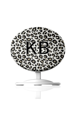 Personalised Black Phone Charger By Koko Blossom