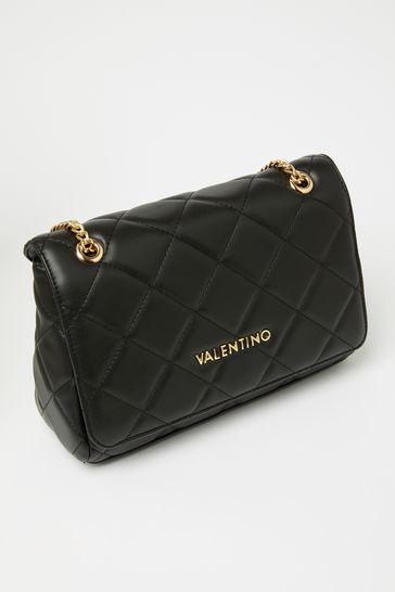 Valentino Bags Black Ocarina Quilted Shoulder Bag