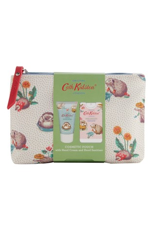 Cath Kidston Gardeners Club Cosmetic Pouch 30ml Hand Cream and 15ml Hand Sanitiser
