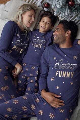 Fashion Union Matching Family Christmas Pyjamas