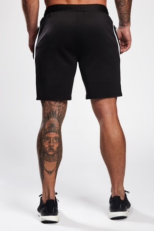Gym King Grey Logo Shorts