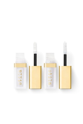 Stila Double Dip Suede Shade and Glitter and Glow Liquid Eye Shadows