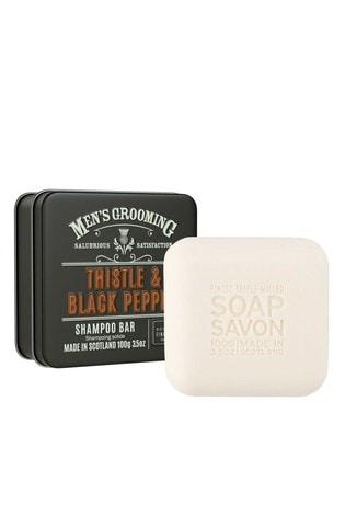 Scottish Fine Soaps Shampoo Bar in a Tin 100g