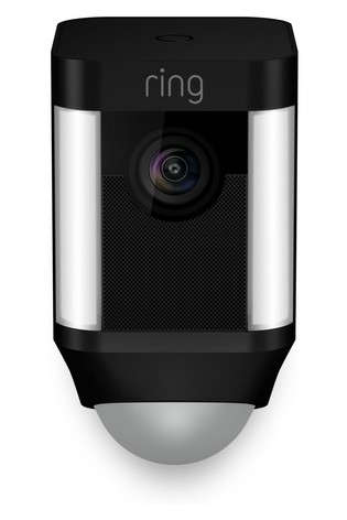 Ring Black Spotlight Camera Battery
