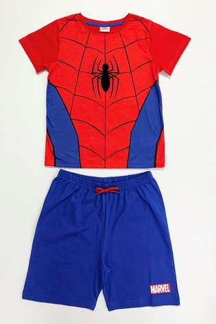 Kids Genius Spiderman Character Nightwear