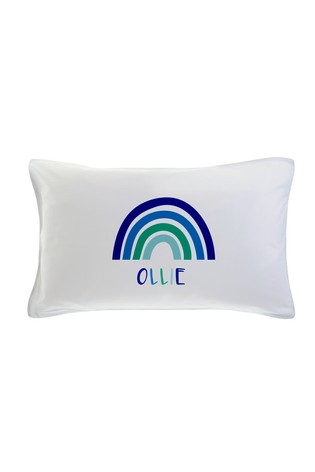 Personalised Rainbow Pillowcase by Gift Collective