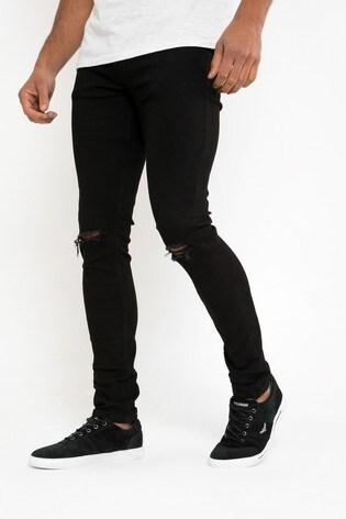 Threadbare Ripped Super Skinny Jean