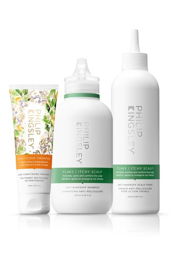 Philip Kingsley Exclusive Bundle: Flaky/Itchy Trio (Worth Value £60.00)