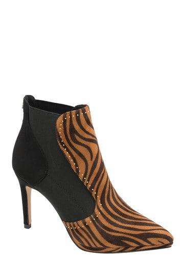 Ravel Animal Print Stiletto Heel Boots