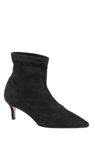 Ravel Black Sock Boots