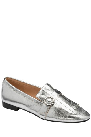 Ravel Silver Loafers