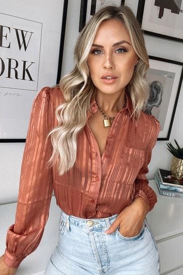 Lipsy Camel Shirt