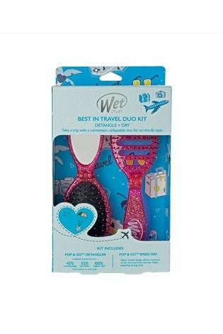 WetBrush Best In Travel Glitter Duo Kit