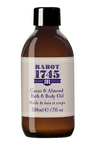Rabot 1745 Cacao & Almond Bath and Body Oil 200ml