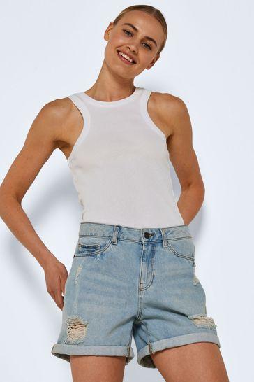 Noisy May Turn Up Denim Shorts