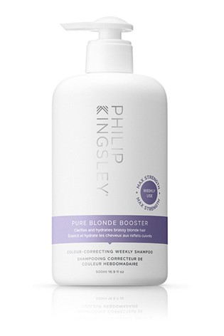 Philip Kingsley Pure Blonde Booster Colour Correcting Weekly Shampoo 500ml