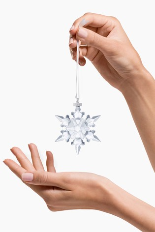 Swarovski Christmas Annual Edition Snowflake Ornament