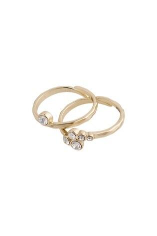 Pilgrim Gold  Fran 2 in 1 Plated Rings