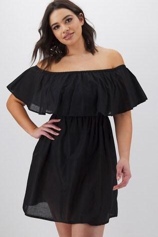 Simply Be Bardot Beach Dress