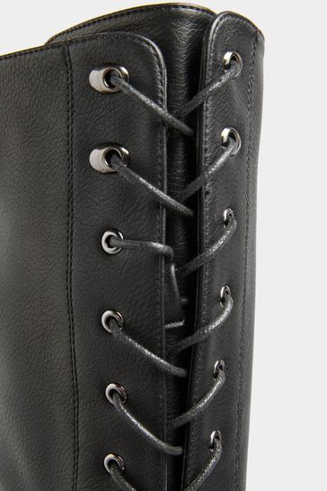 Yours Arena Casual High Leg Lace-Up Boot