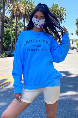 In The Style Francesca Farago 'Vancouver' Oversized Sweatshirt