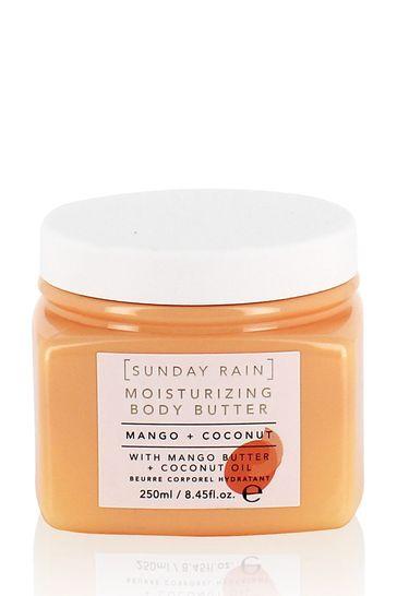 Sunday Rain Mango & Coconut Body Butter 250ml