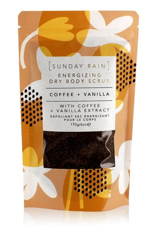 Sunday Rain Coffee & Vanilla Dry Scrub 170g