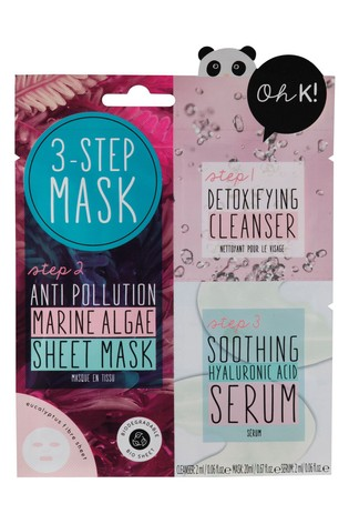 Oh K! 3 Step Anti-Pollution Mask