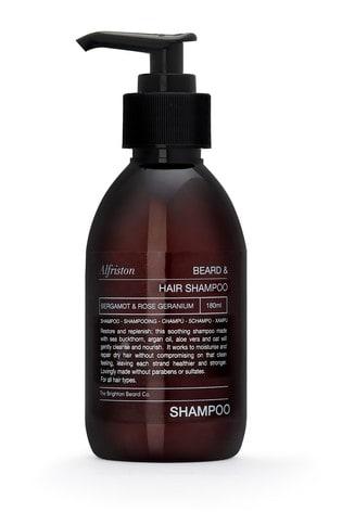 The Brighton Beard Co. Alfriston Bergamot and Rose Geranium Beard and Hair Shampoo