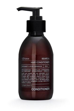 The Brighton Beard Co. Alfriston Bergamot and Rose Geranium Beard and Hair Conditioner