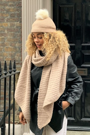 Pieces Chunky Soft Scarf