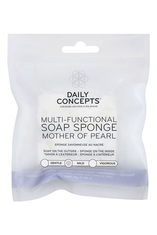Daily Concepts Multi-Functional Soap Sponge Mother Of Pearl