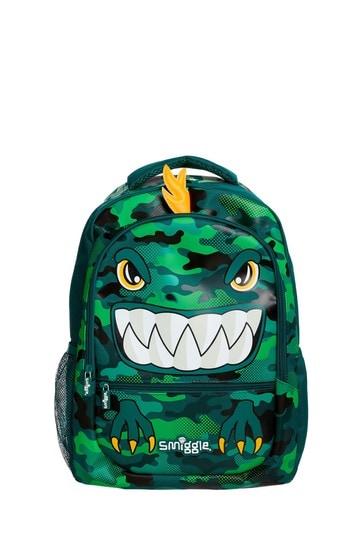 Smiggle Green Budz Backpack