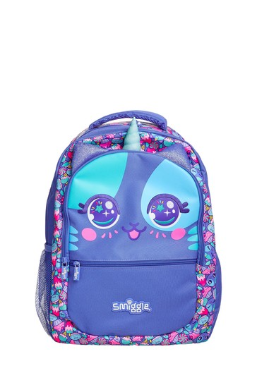 Smiggle Purple Budz Backpack