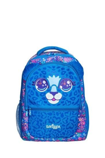 Smiggle Blue Budz Backpack