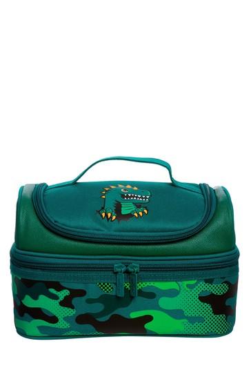 Smiggle Green Budz Double Decker Lunchbox