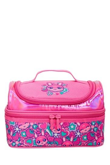 Smiggle Pink Budz Double Decker Lunchbox