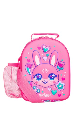 Smiggle Pink Budz Hardtop Lunchbox With Strap