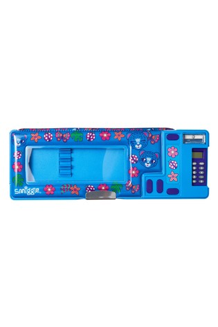 Smiggle Blue Budz Window Pop Out Pencil Case